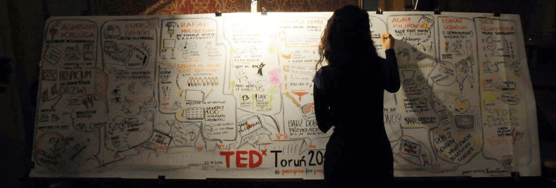 Klaudia Tolman Graphic Recording TED